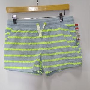 Striped Pull On Draw String Shorts Cat & Jack